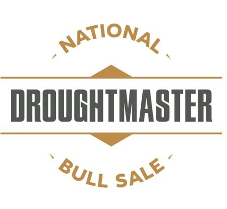 national droughtmaster bull sale logo