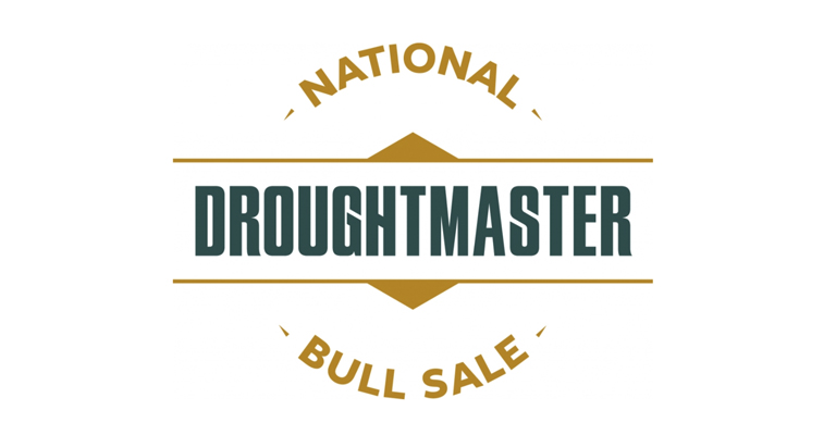 Droughtmaster national bull sale logo